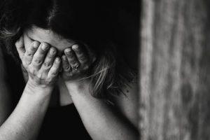 A Picture of a sad person.